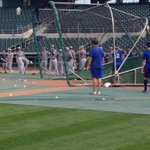 RT @TommyBirch: New Orleans players even taking notice of Baez while they stretch during batting practice. #Cubs #PCL #MiLB http://t.co/0gvdRBldVP