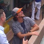 RT @BruceMiles2112: Theo and Eddie Vedder. #Cubs #rocking http://t.co/vWrqp5ZtVM