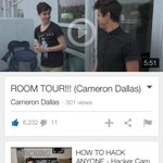 WATCH @camerondallas NEW VIDEO #CamsRoomTour???? GIVE IT S THUMBS UP http://t.co/CZgRVebsdQ ???? http://t.co/fEqGCeBMFL x BAE ILY