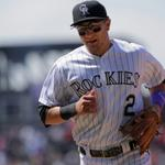 Rockies SS Troy Tulowitzki is headed to the 15-day DL with a right hip flexor strain. Hes hitting .340 with 21 HR. http://t.co/FKNl1P3gfj