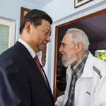 WATCH: #Chinas Xi visits Cuban revolutionary leader Fidel Castro http://t.co/wMYlhFOQtU #Cuba http://t.co/zozcy4uhlP