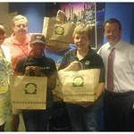 Thank you @BurgerFi 4 feeding us @FOX5Atlanta! Our bellies are happy right now on this #Elections2014 runoff night! http://t.co/5AtHxkUfsS