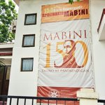 PUP commemorates the 150th birth anniversary of Apolinario Mabini http://t.co/av09aR2rxT
