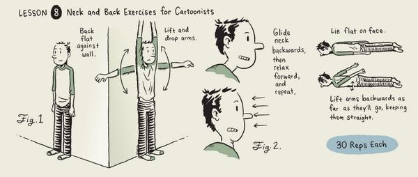 Practical cartoons? Drawing manuals and tutorials @cartoonstudies Applied Cartooning  http://t.co/cCPMCdTD8a http://t.co/IZUlfDHiKk