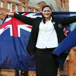 RT @AUTMillennium: Congratulations to @ValerieAdams84. What a great ambassador to NZ and athletics. #FlagBearer http://t.co/PS8kUBbPdl