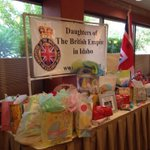 The Daughters of the British Empire in #Idaho celebrating Prince George & donating gifts to Community Baby Shower. http://t.co/YDeLfkhSsl