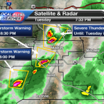 RT @TravisKTVZ: Severe T-Storm Warnings across C.O. Hail, 60 mph wind, heavy rain & lightning associate w/ storms. #OrWx #KTVZ http://t.co/loUyGX1SPD