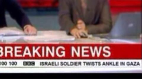 - @BBCWorld RT @MohammedQBM: Apparently twisting an ankle is more important than killing hundreds of innocent people. http://t.co/lJUhvPZ4cV