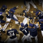 RT @MLB: .@JLucroy20's #walkoff blast helps the @Brewers set the pace in the NL Central: http://t.co/lxZdDiI5Cg http://t.co/7WYsID4ecy