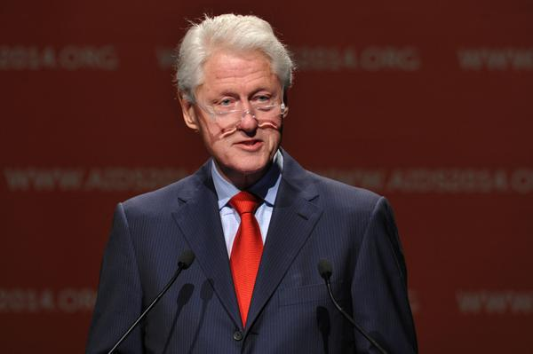 Bill Clinton has praised Julie Bishop's efforts at the UN Security Council over #MH17