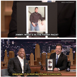 RT @FallonTonight: .@TheRock addresses his throwback photo: http://t.co/TKngK74rBT #FallonTonight http://t.co/zw9eGzfYng