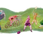 Google Doodle celebrates 20th Commonwealth Games http://t.co/1XoQyY80aY http://t.co/16HvW0116T