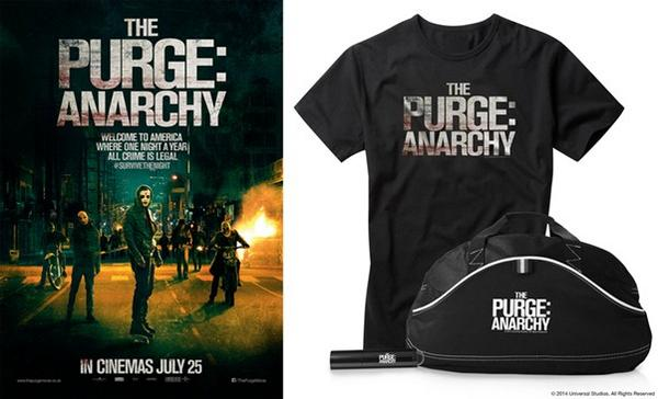 FOLLOW&RT to win cool #PurgeAnarchy goodies and two tickets to the film this weekend @cinedidsbury ! NOW BOOKING!! http://t.co/lripwoX1HR