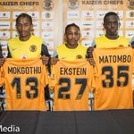 Ekstein must be 1.2M tall... RT @Kaizer_Chiefs: The new Kaizer Chiefs Players #KCPressCon http://t.co/FCyFDInAPk