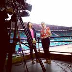 RT @BBCBreakfast: Our @sallynugent & @carolkirkwood are live at Celtic Park, where tonights #glasgow2014 opening ceremony will be held http://t.co/a8VgyFFAPk