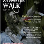 Dunedins biggest zombie walk... Hey its #gigatowndunedin a first zombie walk http://t.co/eGW1aAnv9g