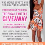 #COMPETITION ❤️ RT, tweet & follow us to enter girls ???? #giveaway #win http://t.co/6Iep2o8uGz