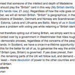 "From the @guardian letters 21.7.14 on the subject of #VoteYes #IndyRef and ""Britishness"" - Anne from Arran: http://t.co/oFEIbzxNom"