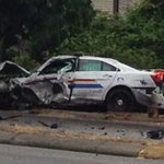 RCMP officer in major crash with family camper van in B.C. http://t.co/e1LLK10KhP http://t.co/7HojcrCNhc