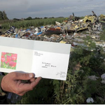 RT @AinaAzizi: Hari Raya Card was found at the location. This is heartbreaking. #MH17 http://t.co/spJglEpUmC