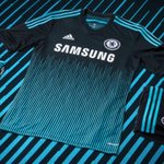 Introducing the 2014/15 Chelsea FC 3rd kit. #allinCFC http://t.co/YVxLoW2Bie