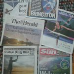 RT @andrewpicken1: Excellent coverage of #Glasgow2014 in majority of todays #scotpapers http://t.co/PFOvpNuwn6