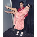 "RT @JaredEng: That time I lifted @ladygaga in the air and her bodyguard yelled at me to put her down. ""Relax, Robert!"" #artRAVE http://t.co/W3KD8VYMib"