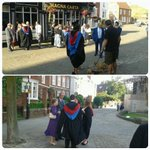 More and more people gathering at the cathedral. Getting excited. #bgugrad2014 http://t.co/872J817bJ8