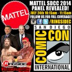 RT @HeymanHustle: #SanDiegoComicCon #SDCC #Mattel Panel -- ONE DAY AWAY! @WWE @WWEUniverse @Mattel @WWEDanielBryan @HulkHogan http://t.co/5yiv4FIjJW