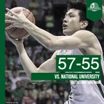 Expect more to come. DLSU got its first win against NU earlier. #DefendTheCrown http://t.co/wAmOagwlgO