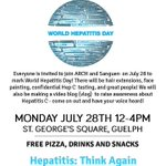 Looking for volunteer drivers & donations of raffle prizes for #WorldHepatitisDay on Monday, July 28th in #Guelph! http://t.co/RHYeTmW2OG