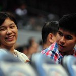 """@KieferNiYeye: MiEfer watching the DLSU vs NU game!  http://t.co/68oBWHZLte"""