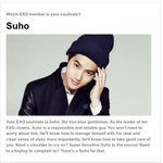 """which exo member is your soulmate?"" i got kimjunmyeon! hohooo xD i just wanna test it hehe???????????? http://t.co/LDzMZwxi4m"