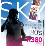 RT @TsogoSun: DURBAN! Weve got 1 x dbl ticket to Sats 80s party at #SKYVENUE. Tweet your best memory from the 80s to enter. http://t.co/TnfbbCyi2n