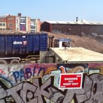 Work on site on the Bradford St/Digbeth site #Birmingham http://t.co/liM0db4uC3