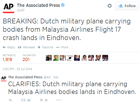.@AP just found out how big a difference a missing comma makes to a news story... http://t.co/23FSDXB7Jq