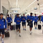 LFP WORLD CHALLENGE | @MalagaCF have arrived! Bring on Friday night. Buy tickets now http://t.co/pjHnhpr45C http://t.co/7Af33nJSUM