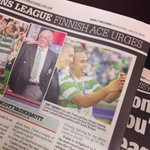 RT @lomalitomoala: Got on todays paper with the captain Scott brown! #Glasgow2014 #CommonwealthGames #celtic #tonga http://t.co/HOsMxpwrGD