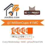 RT @1MillionCupsKC: Wake up, #KC! If youre not on the way to @KauffmanFDN, youll miss @joebidkc and @kcpetproject! #1MC http://t.co/v2W6LAaOY2