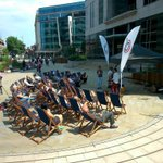 @ColmoreBID Square. Music in the sun! @BhamUpdates @BrumHour #Birmingham lunchtime entertainment! http://t.co/KzrkW9sPfh