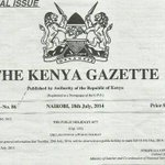 RT @newvisionwire: #Kenyan Government gazettes #Tuesday July 29 as a public holiday to celebrate #Idd Ul Fitr http://t.co/53ut1F5xpl