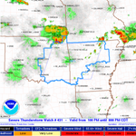 Severe Thunderstorm Watch #431 until 8 pm for most of E OK and all of WC/NW AR #okwx #arwx http://t.co/ZpVYPm75du