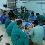 """@iFalasteen: The real heroes breaking their fast after a long and sad day... #Ramadan #PrayForGaza #GazaUnderAttack http://t.co/yY90v9svGE"""