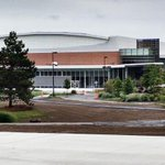 RT @RITWHKY: Outside view of @PolisseniCenter Future home of #RIThockey @RITWHKY & @RITMHKY #ROC http://t.co/iEbw9oksBp