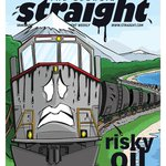 RT @tlupick: Heres this weeks @georgiastraight cover: Risky oil by rail. Story: http://t.co/WzrC3YXF3t Cover: http://t.co/Rm53c7KIiH