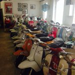#motorbiking #lambretta style #GranSport #Birmingham. Just right for this weather.... #elscorchio http://t.co/0FBp44UhFw