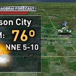 RT @WHOWeather: It will be a nice evening in Mason City for #RAGBRAI. Beautiful night! Heres the forecast: #13now http://t.co/xq8OFD325R