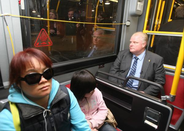 Not to be outdone by the Ottawa fox, a donkey was found on Toronto transit. #topoli http://t.co/ycNjsNlFzg