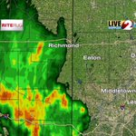 Moderate to heavy rain moving eastward. #daywx #dayton http://t.co/XODeUnPFkV