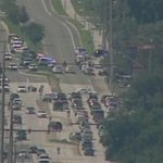 Huge police presence in Belle Isle after shots fired: http://t.co/gLpe5lX0J9